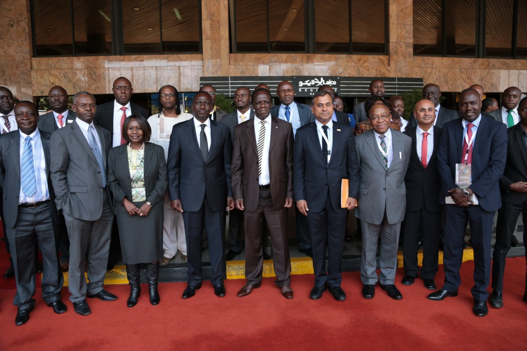 Dignitaries at the first-ever National Data Forum included Kenya Deputy President William Ruto and Cabinet Secretaries Prof Judi Wakhungu (Ministry of Environment & Natural Resources) and Mr Henry Rotich (National Treasury)