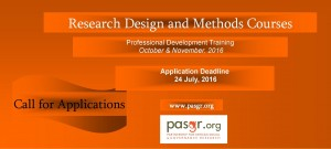 Research Design and Methods Courses Final