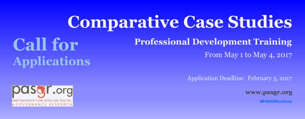 Comparative Case Studies banner