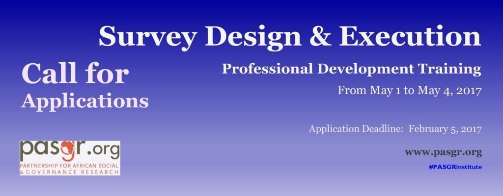 Survey Design banner