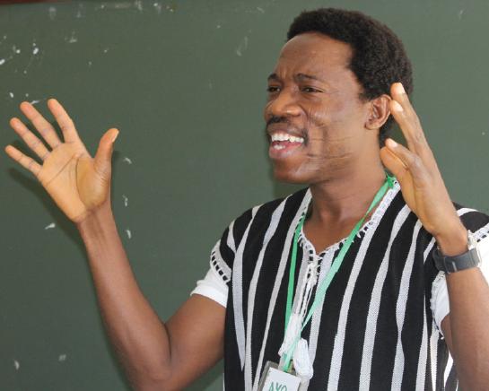 Ayobami Ojebode, PDT Course Coordinator in 2016
