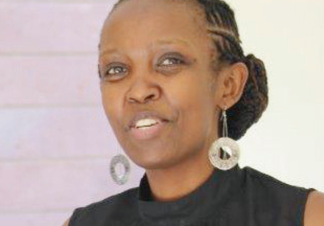Dr Connie Nshemereiwe is one of the instructors in the Advanced Research Design Course